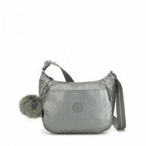 Black Friday 2020 | Kipling Sac à Main Imprimé avec Sangle Extensible Metallic Stony pas cher