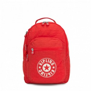 [Black Friday 2019] Kipling Sac à Dos Medium avec Compartiment pour Ordinateur Active Red NC pas cher