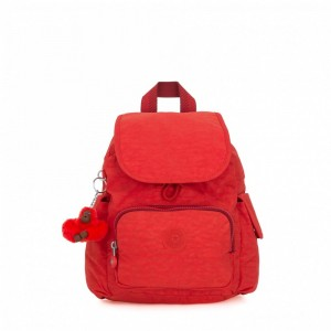 Vacances Noel 2019 | Kipling Sac à Dos City Pack Mini Active Red pas cher
