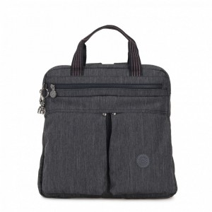 [Black Friday 2019] Kipling Petit sac à dos et à main 2 en 1 Active Denim pas cher