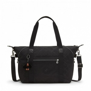 Black Friday 2020 | Kipling Grand sac à main avec sangles détachables Black US Emb pas cher