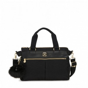 Kipling Small shoulderbag (with removable shoulderstrap) Black Wk pas cher