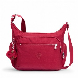 [Black Friday 2019] Kipling Sac épaule Medium Avec Bretelle Ajustable Radiant Red C pas cher