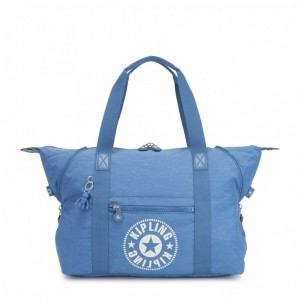 Black Friday 2020 | Kipling Sac Cabas Medium avec 2 Poches Frontales Dynamic Blue pas cher