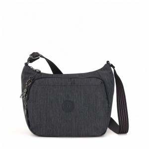 Kipling Medium crossbody Active Denim pas cher