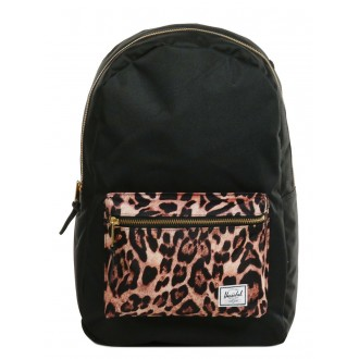 Black Friday 2020 | Herschel Sac à dos Settlement black/desert cheetah vente
