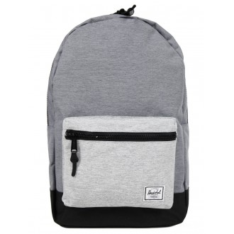Black Friday 2020 | Herschel Sac à dos Settlement mid grey crosshatch/black/light grey crosshatch vente