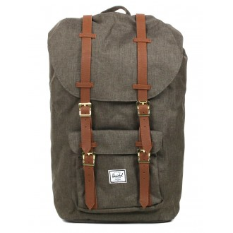 Herschel Sac à dos Little America canteen crosshatch/tan vente