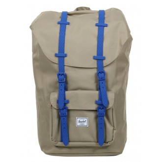 Herschel Sac à dos Little America brindle/cobalt native rubber vente