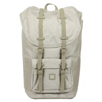 Herschel Sac à dos Little America Aspect dark khaki crosshatch/seneca rock rubber vente