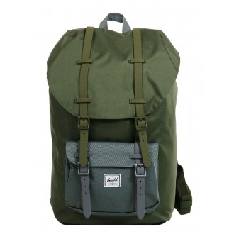 Vacances Noel 2019 | Herschel Sac à dos Little America ivy green/smoked pearl vente