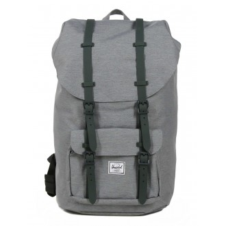 Herschel Sac à dos Little America mid grey crosshatch vente