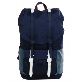 Vacances Noel 2019 | Herschel Sac à dos Little America Aspect peacoat/navy/vermillion orange vente