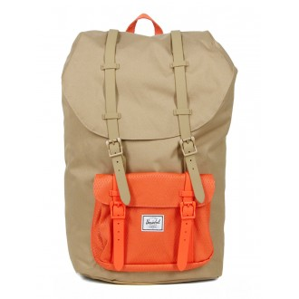 Herschel Sac à dos Little America kelp/vermillion orange vente