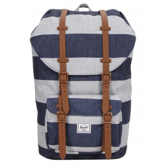 Herschel Sac à dos Little America border stripe/saddle vente