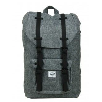 Vacances Noel 2019 | Herschel Sac à dos Little America Mid Volume raven crosshatch/black rubber vente