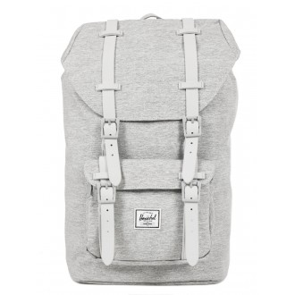 Vacances Noel 2019 | Herschel Sac à dos Little America Mid Volume light grey crosshatch/grey rubber vente