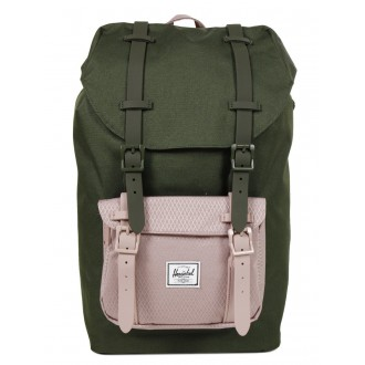 Vacances Noel 2019 | Herschel Sac à dos Little America Mid Volume forest night/ash rose vente