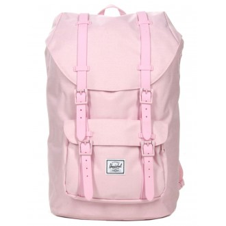 Vacances Noel 2019 | Herschel Sac à dos Little America Mid Volume pink lady crosshatch vente
