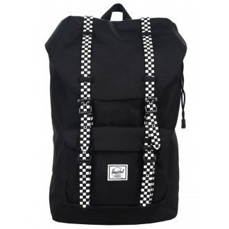 Vacances Noel 2019 | Herschel Sac à dos Little America Mid Volume black/checkerboard vente