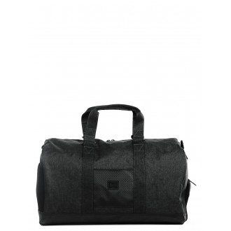 Black Friday 2020 | Herschel Sac de voyage Novel Aspect 52 cm black crosshatch/black/white vente