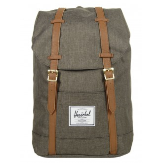 Vacances Noel 2019 | Herschel Sac à dos Retreat canteen crosshatch/tan vente