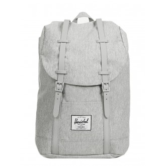 Vacances Noel 2019 | Herschel Sac à dos Retreat light grey crosshatch vente