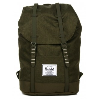 Vacances Noel 2019 | Herschel Sac à dos Retreat olive night crosshatch/olive night vente