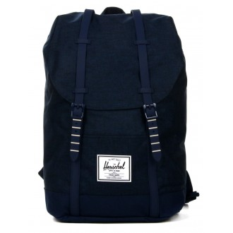 Herschel Sac à dos Retreat medievel blue crosshatch/medievel blue vente