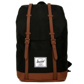 Herschel Sac à dos Retreat black/saddle brown vente