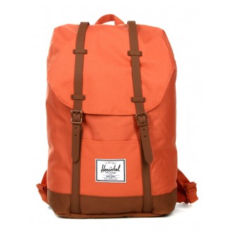 Vacances Noel 2019 | Herschel Sac à dos Retreat apricot brandy/saddle brown vente