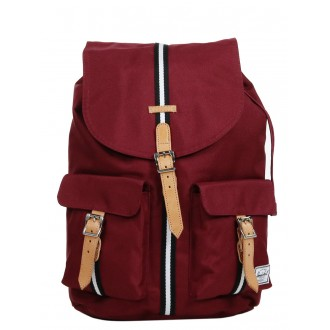 Vacances Noel 2019 | Herschel Sac à dos Dawson Offset windsor wine/veggie tan leather vente