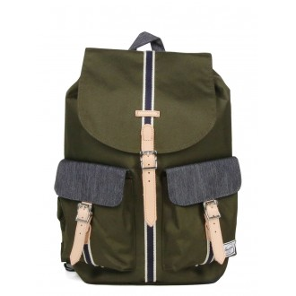 Vacances Noel 2019 | Herschel Sac à dos Dawson Offset forest night/ dark denim vente