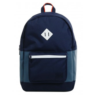 Herschel Sac à dos Ruskin Aspect peacoat/navy/vermillion orange vente