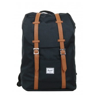 Vacances Noel 2019 | Herschel Sac à dos Retreat Mid-Volume black/tan vente