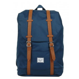 Black Friday 2020 | Herschel Sac à dos Retreat Mid-Volume navy/tan vente