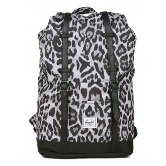Vacances Noel 2019 | Herschel Sac à dos Retreat Mid-Volume snow leopard/ black vente