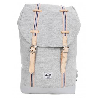 Vacances Noel 2019 | Herschel Sac à dos Retreat Mid-Volume Offset light grey crosshatch/high rise vente