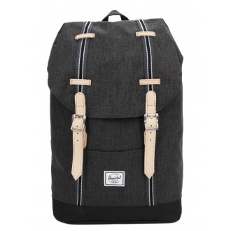 Vacances Noel 2019 | Herschel Sac à dos Retreat Mid-Volume Offset black crosshatch/black vente