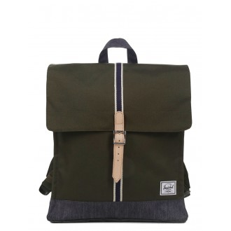 Vacances Noel 2019 | Herschel Sac à dos City Mid-Volume Offset forest night/ dark denim vente