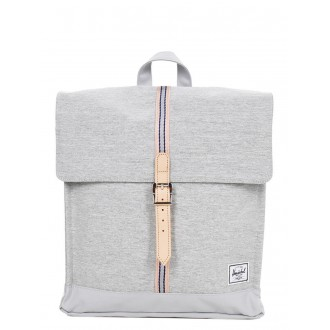 Vacances Noel 2019 | Herschel Sac à dos City Mid-Volume Offset light grey crosshatch/high rise vente