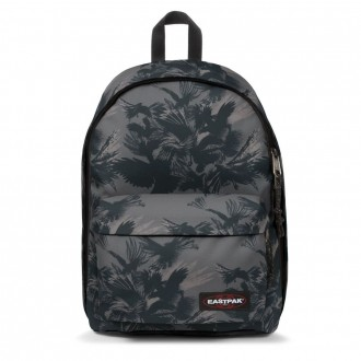 Vacances Noel 2019 | Eastpak Out Of Office Dark Forest Black livraison gratuite