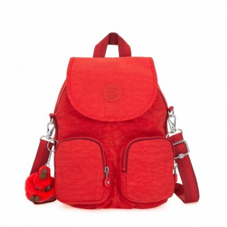 Black Friday 2020 | Kipling Petit sac à dos transformable en sac à bandoulière Active Red pas cher