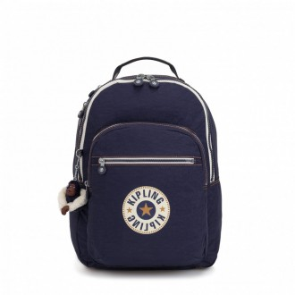 Black Friday 2020 | Kipling Grand Sac à Dos Avec Protection Pour Ordinateur Portable Active Blue Bl pas cher