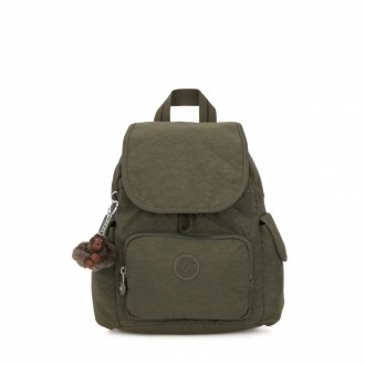 Black Friday 2020 | Kipling Sac à Dos City Pack Mini Jaded Green C pas cher