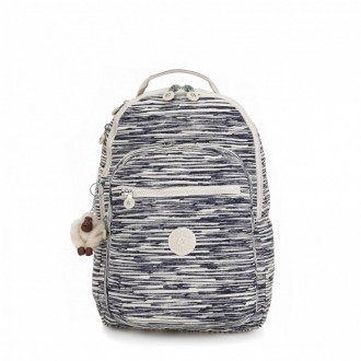 Black Friday 2020 | Kipling Grand Sac à Dos Avec Protection Pour Ordinateur Portable Scribble Lines pas cher