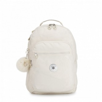 Black Friday 2020 | Kipling Grand Sac à Dos Avec Protection Pour Ordinateur Portable Dazz White pas cher