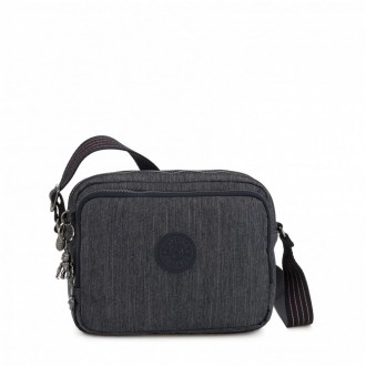 Kipling Small crossbody Active Denim pas cher
