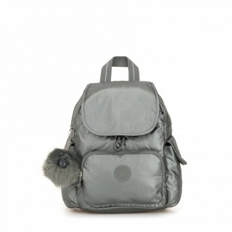 Black Friday 2020 | Kipling Sac à Dos City Pack Mini Metallic Stony pas cher