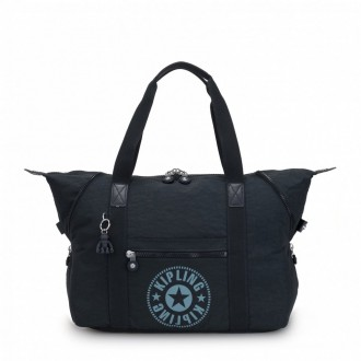 Black Friday 2020 | Kipling Sac Cabas Medium avec 2 Poches Frontales Lively Navy pas cher
